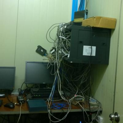 Before - Fiduga Server Room