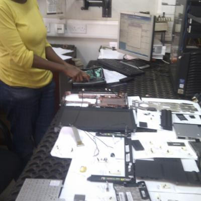 Workshop CFTS, Laptop Repair and Data Recovery